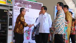 Kawasan Ekonomi Khusus (KEK) di Bandara Sam Ratulangi, Manado, Senin (1/4). Jokowi meresmikan beroperasinya 3 Kawasan Ekonomi Khusus, Rusun Mahasiswa IAIN Kota Manado dan Rusun Mahasiswa UKI Kota Tomohon. (Liputan6.com/Angga Yuniar)