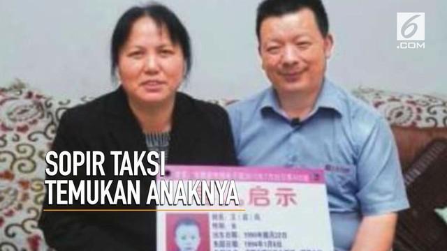 Setelah menceritakan kisahnya kepada 17.000 penumpang, Sopir asal China ini berhasil menemukan anaknya yang telah hilang selama 24 tahun.