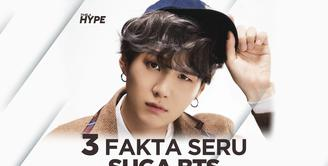 3 Fakta Seru Suga, Member BTS Paling Cool!