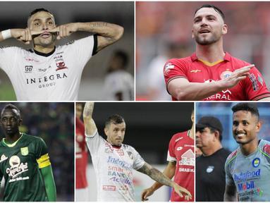 Kompetisi kasta tertinggi Indonesia Shopee Liga 1 akan kembali dimulai pada 1 Oktober 2020. Pesona pemain asing merupakan salah satu magnet yang menjadi daya tarik penggemar sepak bola di tanah air. Berikut 6 pemain asing yang dirindukan penampilannya.